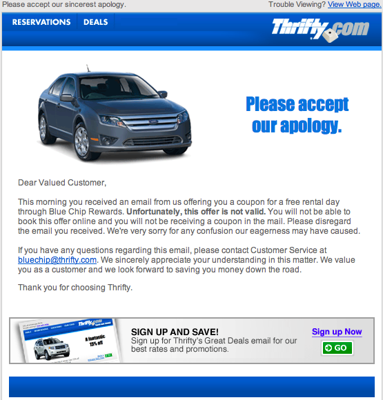 Thrifty Car Rental Goshen Indiana